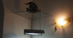 Стеклянная полка-держатель для светильника Solar Ⅰ ADA.