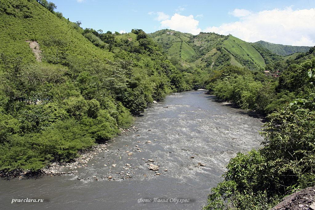Рио Негро, один из притоков Магдалены