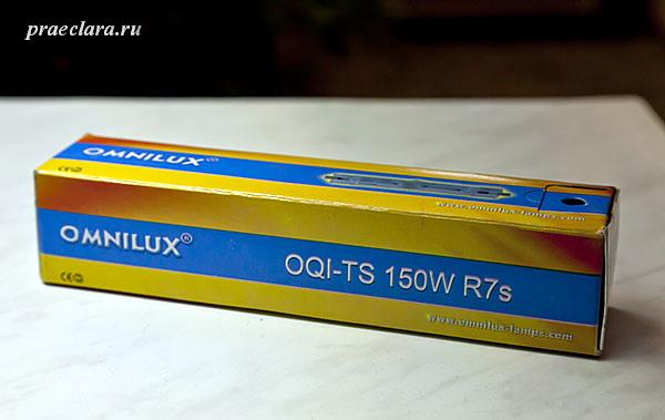 OMNILUX OQI-TS 150W R7s 6000h 8000K