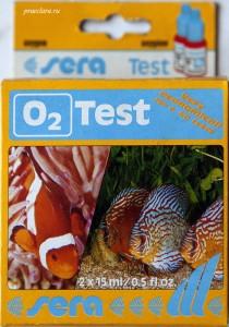 Тест на O2 Sera