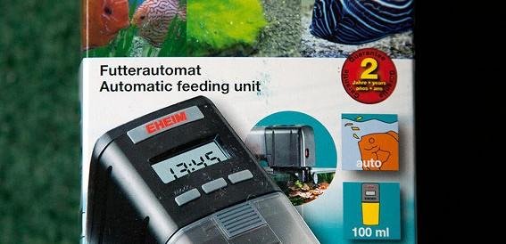 Автокормушка для аквариума