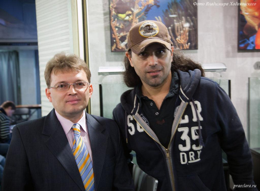 Владимир Ходаковский и Chris Lukhaup